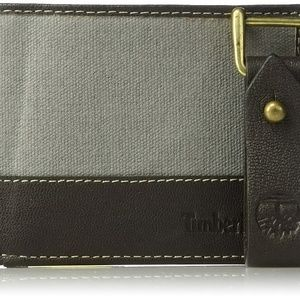 Timberland Men's Billfold Wallet & Key Fob Set New